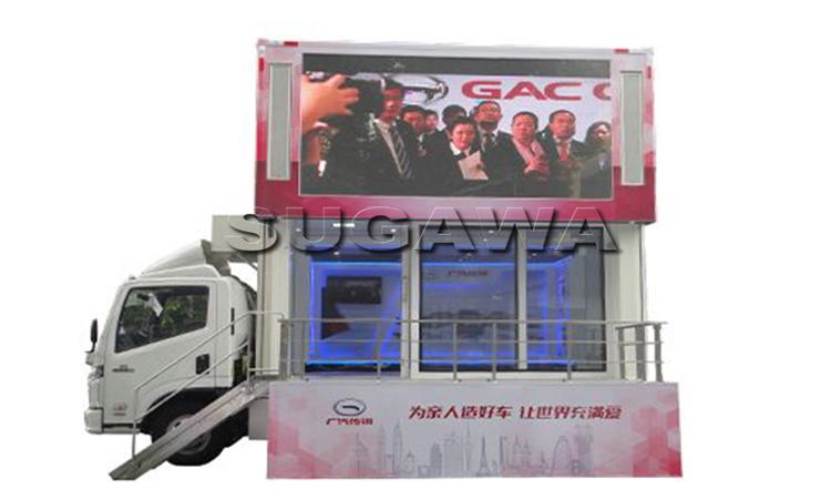 фургон с экраном