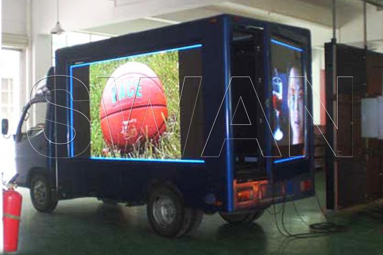 LED Truck реклама на колёсах